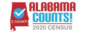 alabama counts census logo