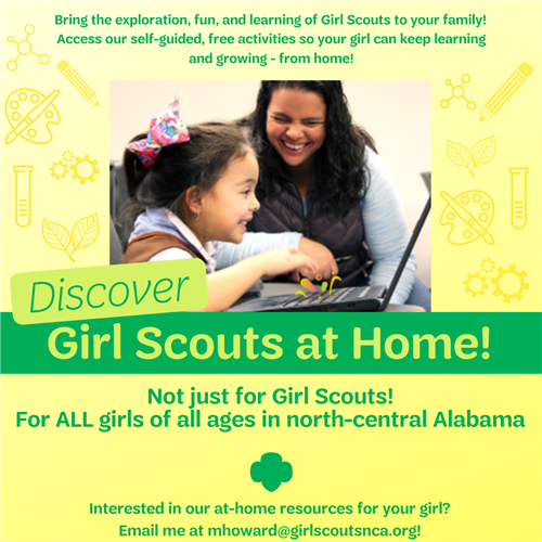 Girl Scouts at Home!