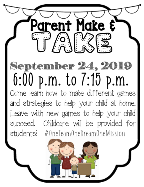 Parent Make & Take