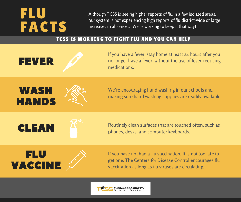 TCSS is working to fight flu and you can help