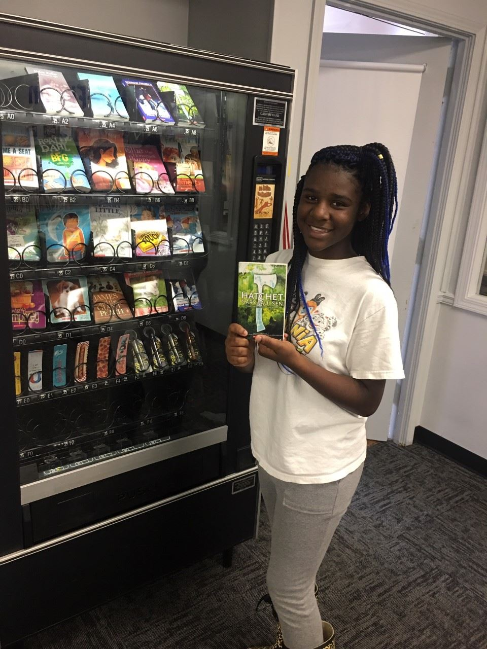 Vending Machine in the Library