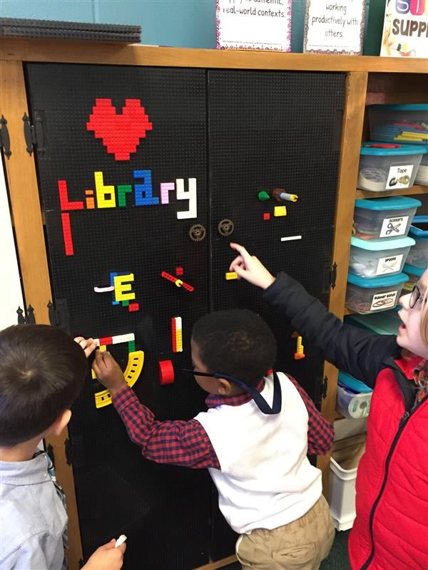 Students Lego Wall