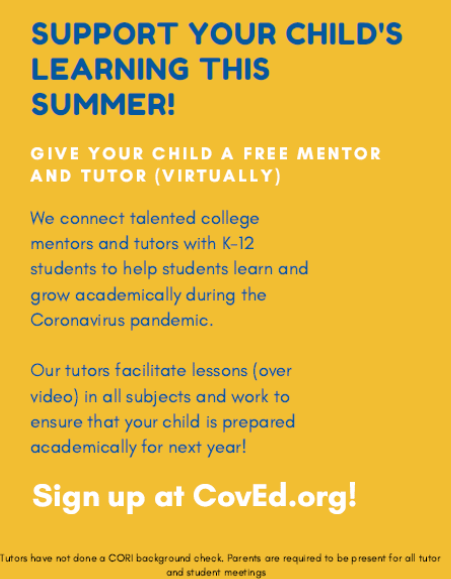 CoVed.org Flyer
