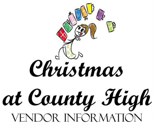 Christmas at County High Vendor Link