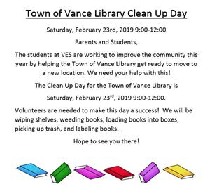 Vance Clean Up Day!