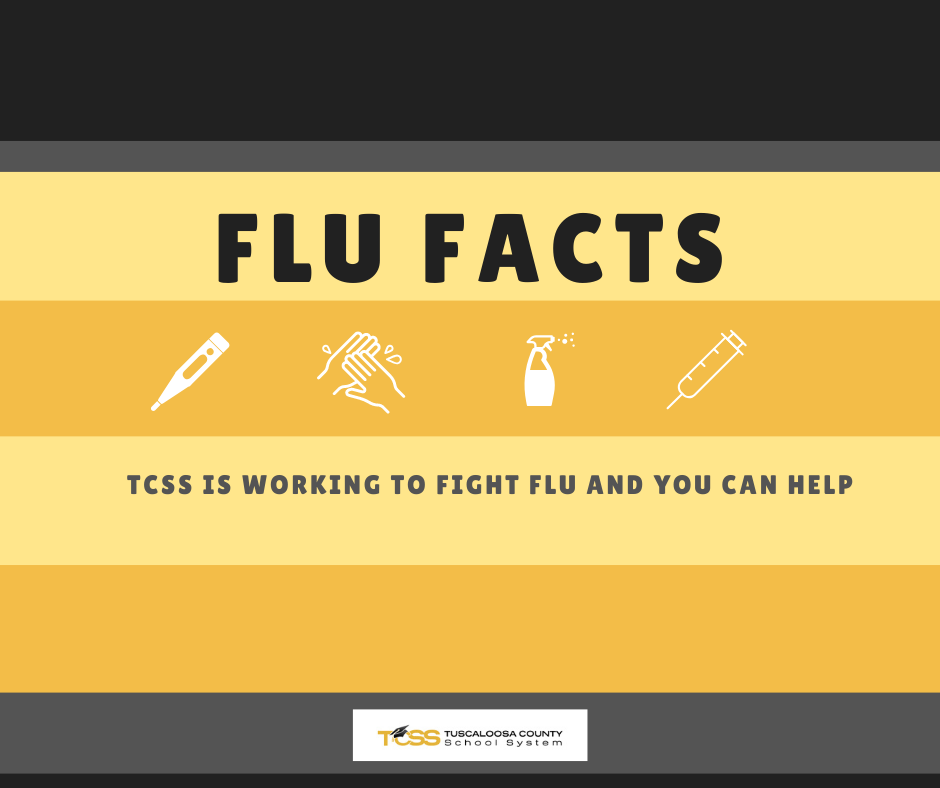 Flu Facts, TCSS is working to fight flu and you can help