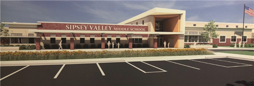 Rendering from Ellis Architects of new SVMS