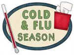 Cold and Flu Season clip art