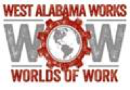 West Alabama Works:  World of Work Logo