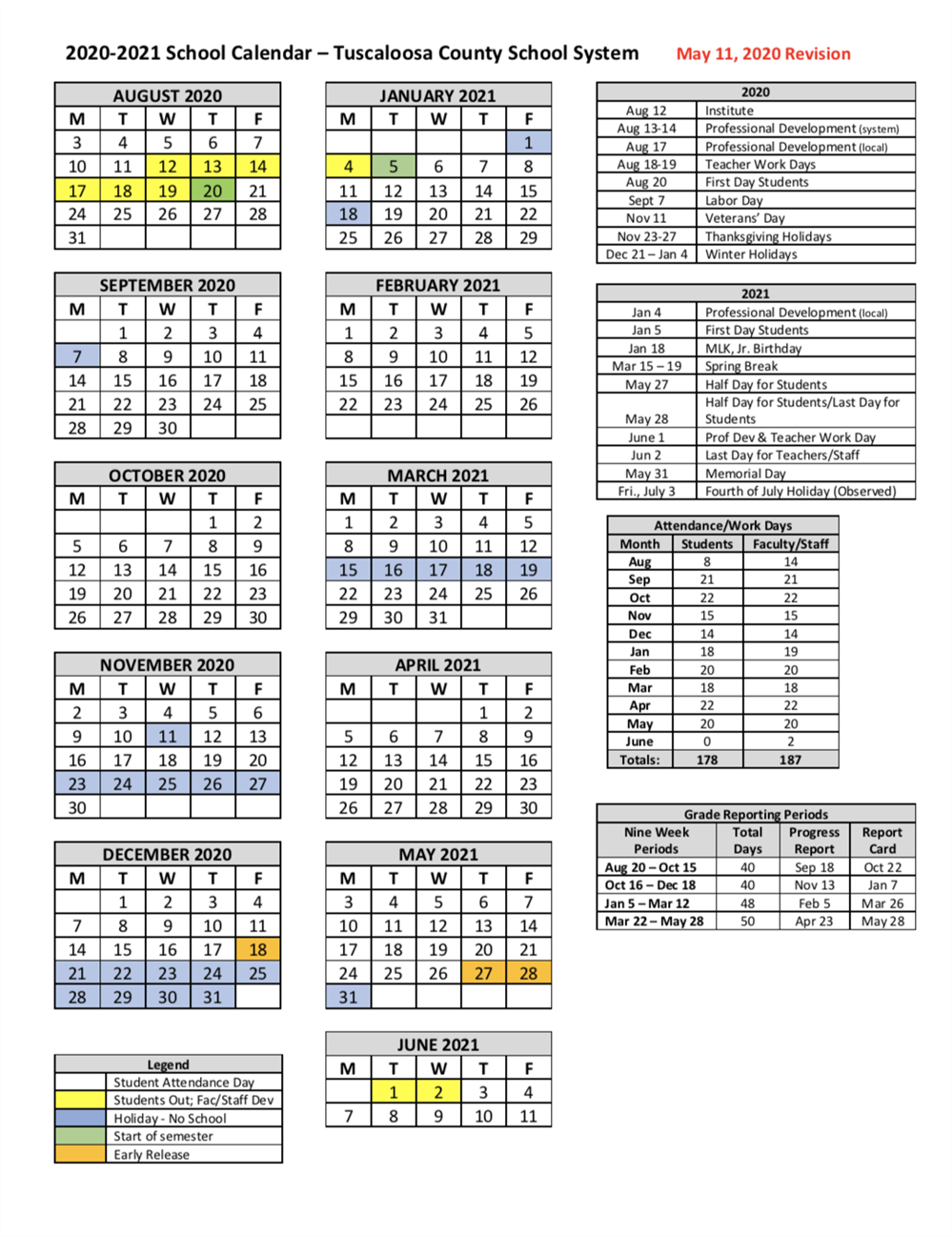Lake County School Calendar 2021-2022 News & Announcements / Board Approves Revised 2020 2021 Academic