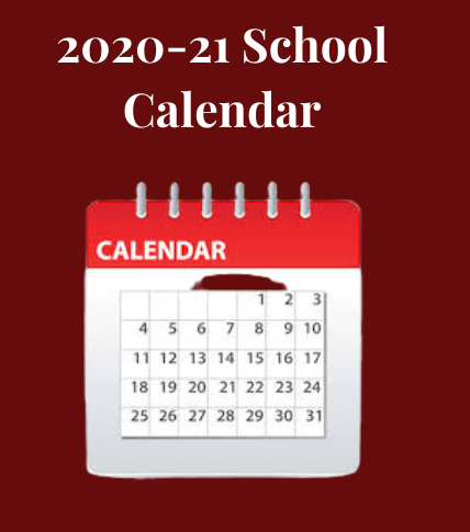 Revised 2020-2021 TCSS Academic Calendar