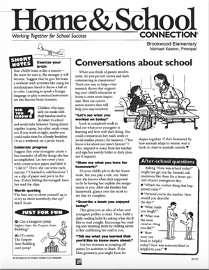 Home & School pg 1