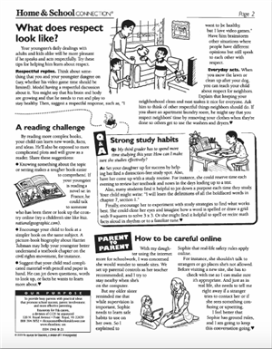 Home and School pg 2