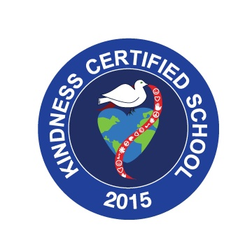 Kindness Certified School 2015 Seal
