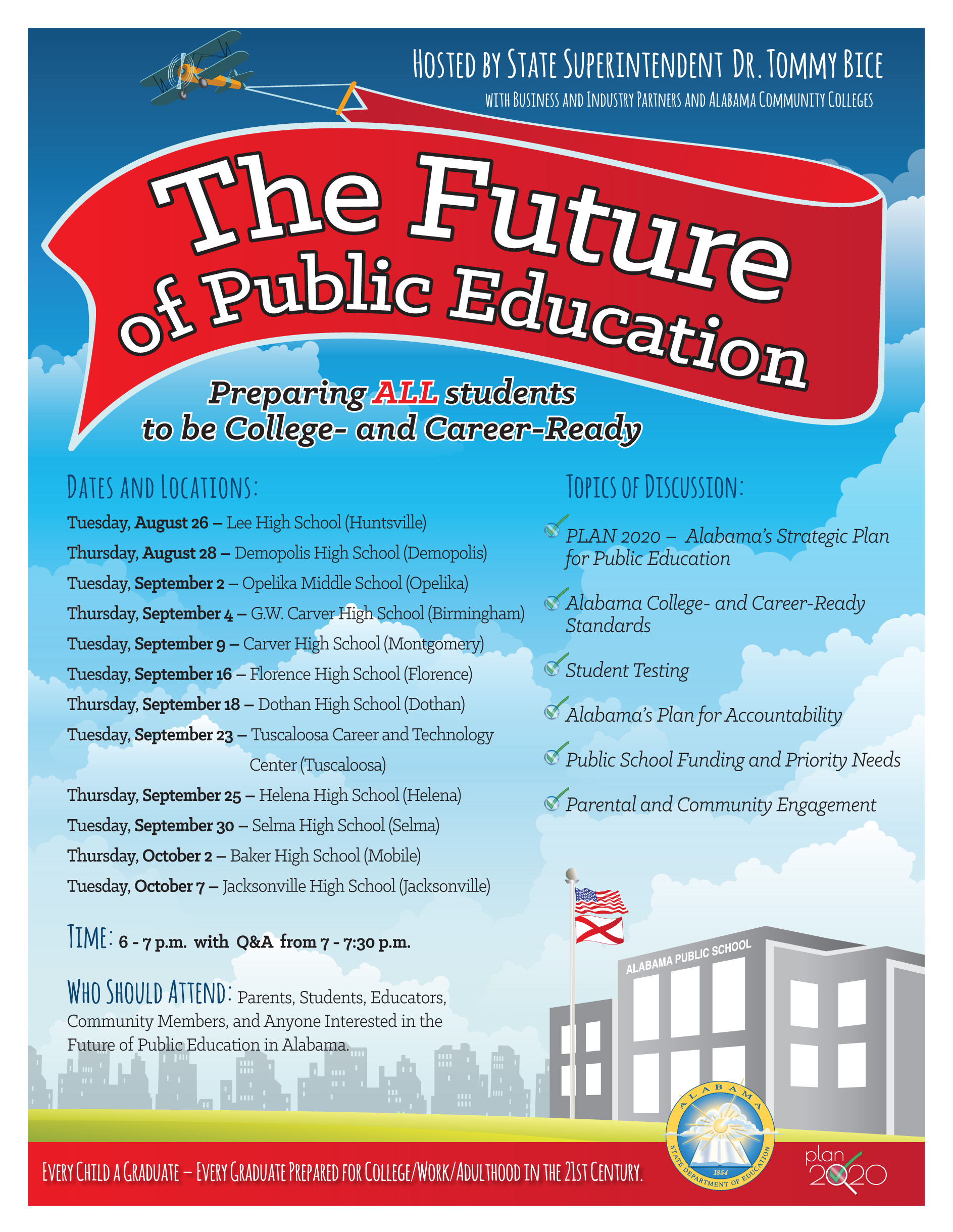 Future of Public Education poster
